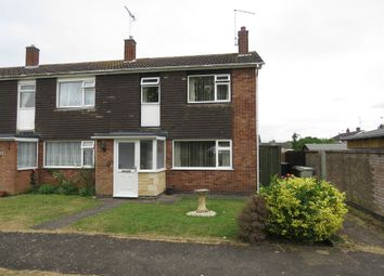 Thumbnail 3 bed end terrace house for sale in Rutland Way, Ryhall, Stamford
