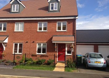 Thumbnail 3 bed town house for sale in Moorcroft Lane, Aylesbury