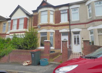 Thumbnail 3 bed terraced house to rent in Morden Road, Newport