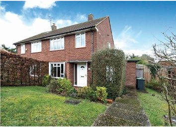 Chiltern Drive, Mill End, Rickmansworth, Hertfordshire WD3. 3 bed semi-detached house