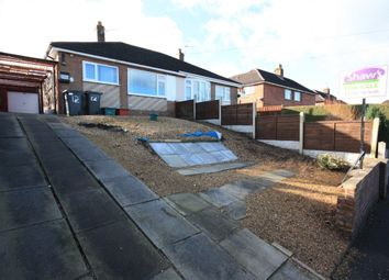 Thumbnail 2 bed semi-detached bungalow for sale in Trubshaw Place, Kidsgrove, Stoke-On-Trent