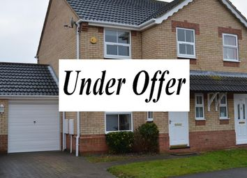 Thumbnail 3 bed semi-detached house for sale in Russell Crescent, Sleaford