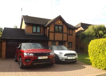 Thumbnail 4 bed property to rent in Ashbrook Crescent, Solihull