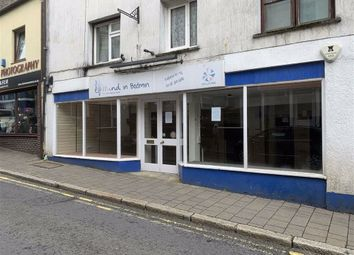Retail premises to let in 61, Fore Street, Bodmin PL31
