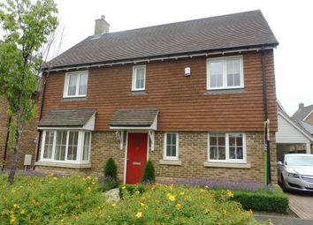 Thumbnail 4 bedroom detached house for sale in Alexander Road, Harrietsham, Maidstone