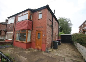 Thumbnail 3 bedroom semi-detached house for sale in Charlton Avenue, Eccles, Manchester
