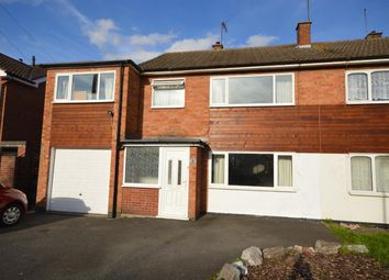 Thumbnail 5 bed semi-detached house for sale in Bala Road, Croft, Leicester