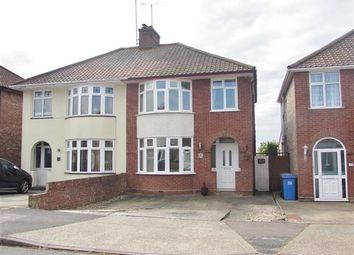 Thumbnail 3 bed semi-detached house for sale in Castle Road, Ipswich