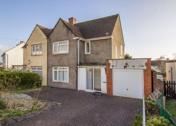 Thumbnail 3 bed semi-detached house for sale in St. Davids Crescent, Penarth