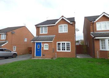 Thumbnail 3 bed detached house to rent in Bailey Close, Fernhurst Farm, Blackburn
