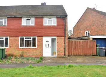 Thumbnail 3 bedroom semi-detached house to rent in Wigmore Road, Tadley, Hampshire