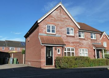 Thumbnail 3 bedroom detached house for sale in Willoughby Way, Rackheath, Norwich