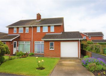 Thumbnail 3 bed semi-detached house for sale in Cranbrook Close, York