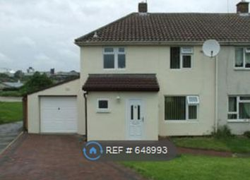 Thumbnail 3 bed semi-detached house to rent in Blackmoor Avenue, Corby
