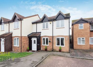 Thumbnail 3 bedroom semi-detached house for sale in Rural Close, Hornchurch