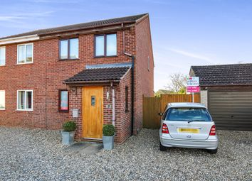 Thumbnail 3 bedroom semi-detached house for sale in Ferguson Way, Attleborough