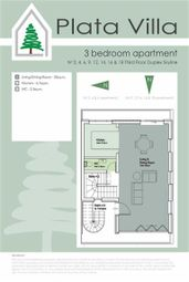 Thumbnail 3 bed apartment for sale in Plata Villa, Gibraltar, Gibraltar