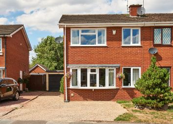 Thumbnail 3 bed semi-detached house for sale in Belgrave Avenue, Congleton