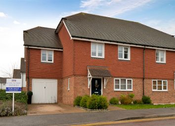 Wickham Road, Snodland ME6. 4 bed semi-detached house for sale