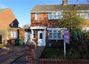 Thumbnail 2 bedroom semi-detached house for sale in Crossways, Sunderland
