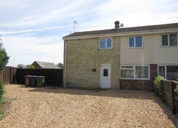 Thumbnail 3 bed semi-detached house for sale in Birch Grove, Elm, Wisbech