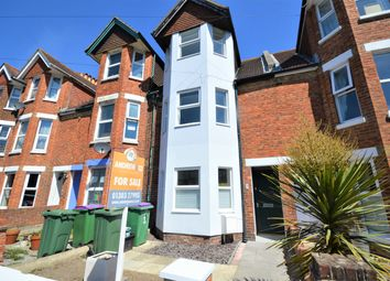 Thumbnail 4 bed terraced house for sale in Morehall Avenue, Cheriton, Folkestone