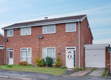 Thumbnail 3 bed semi-detached house for sale in Buckfast Close, Bromsgrove