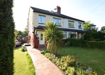 Thumbnail 4 bed semi-detached house for sale in Wensley Road, Chapel Allerton, West Yorkshire