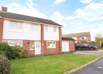 Thumbnail 4 bedroom semi-detached house for sale in Fitzroy Crescent, Woodley, Reading