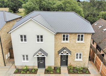 Thumbnail 3 bed semi-detached house for sale in Woodland View, 17 High Road, Stapleford, Hertford, Hertfordshire