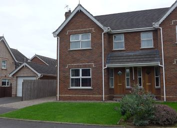 Thumbnail 3 bed semi-detached house to rent in 56 Brook Lodge, Lower Ballinderry, Lisburn