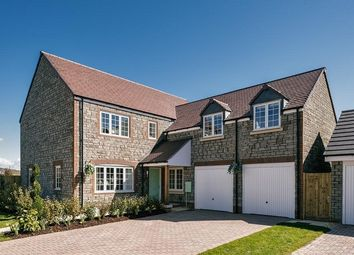 "Thumbnail 4 bed property for sale in ""The Trent"" at Wand Road, Wells"