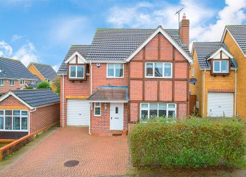 Thumbnail 4 bed detached house for sale in Lonsborough Drive, Kettering