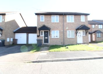 Thumbnail 2 bed flat for sale in Rudyard Close, Chapel Langley, Luton