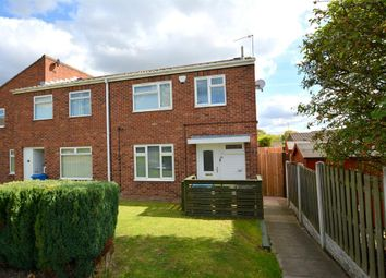 Thumbnail 3 bed town house for sale in Holme Hall Crescent, Holme Hall, Chesterfield