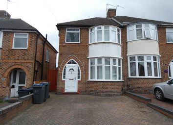Thumbnail 3 bed semi-detached house to rent in Bryn Arden Road, South Yardley, Birmingham