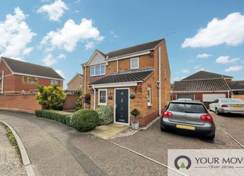 Thumbnail 3 bed detached house to rent in Caraway Drive, Bradwell, Great Yarmouth