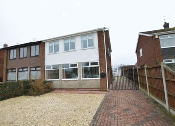 Thumbnail 3 bed semi-detached house for sale in Park Avenue, Bottesford, Scunthorpe