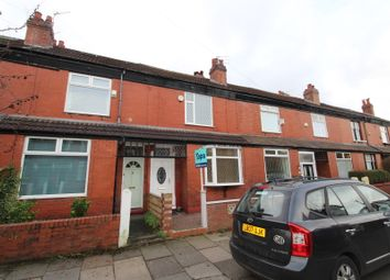 Thumbnail 3 bed terraced house for sale in Longford Road, Chorlton Cum Hardy, Manchester