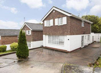 Thumbnail 3 bed detached house for sale in Woodvale Avenue, Cyncoed, Cardiff