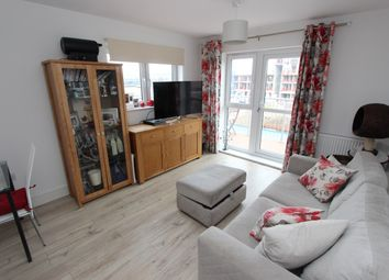 Thumbnail 1 bed flat for sale in Meridian Way, Northam, Southampton