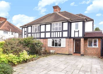 Thumbnail 5 bed semi-detached house for sale in Oaklands Avenue, Oxhey Hall