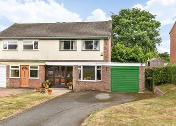 Thumbnail 3 bed semi-detached house for sale in Bromyard, Herefordshire