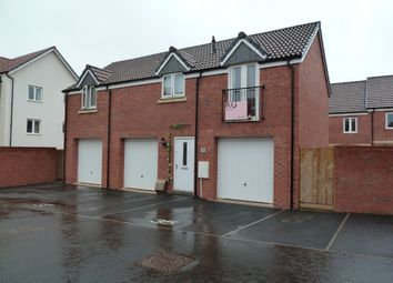 Thumbnail 2 bed flat to rent in Hood Drive, Exeter