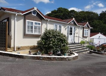 Thumbnail 2 bedroom mobile/park home for sale in The Copse, St Austell
