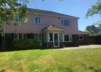 Thumbnail 5 bed detached house for sale in Bury Road, Lawshall, Bury St. Edmunds