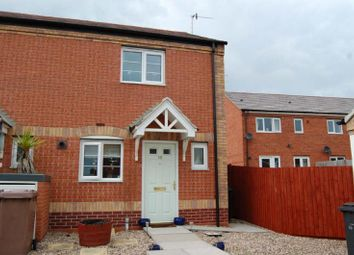 Thumbnail 2 bed end terrace house to rent in Disraeli Crescent, Squires Court, Ilkeston, Derbyshire