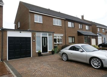 Thumbnail 3 bed semi-detached house for sale in Fontburn, Amble, Morpeth