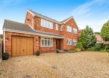 Thumbnail 4 bed detached house for sale in Grange Road, Bessacarr, Doncaster
