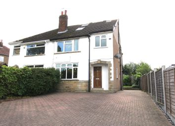 Thumbnail 5 bedroom semi-detached house for sale in Stonegate Road, Moortown, Leeds